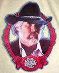 Kenny Rogers Country Music Vintage T-Shirt Iron-on