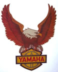 yamaha motorcycle vintage t-shirt iron-on