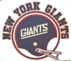 new york giants vintage t-shirt iron-on