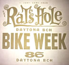 daytona bike week 1986 vintage t-shirt iron-on