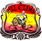 hill climb motocross vintage 1970's t-shirt iron-on motorcycle
