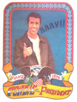 fonz for president vintage 1970's t-shirt iron-on